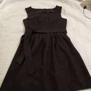 Deep Navy dress with belt and packets